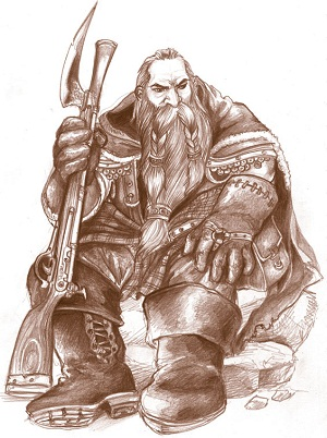 dwarf hunter 02