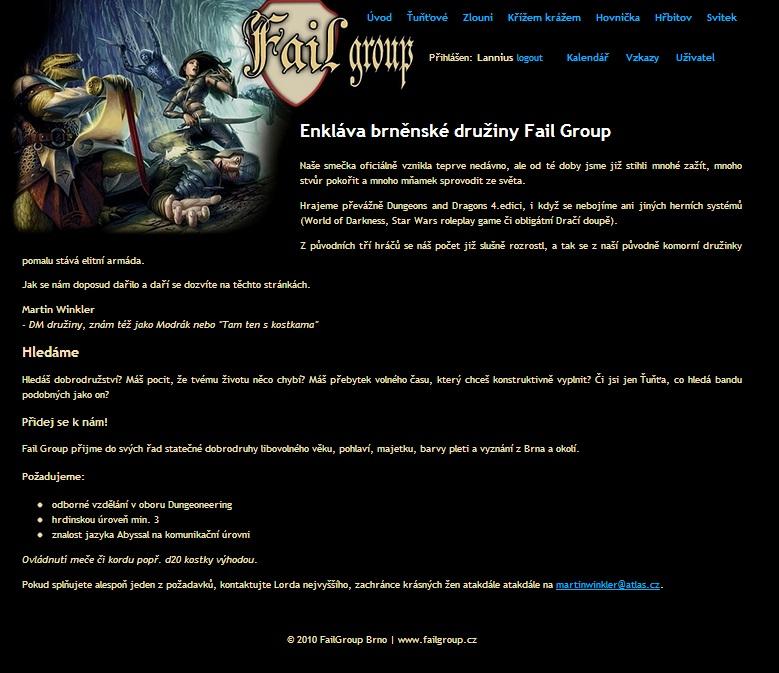 Failgroup 2010